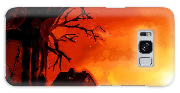 Is This Scary? Galaxy Case by Persephone Artworks
