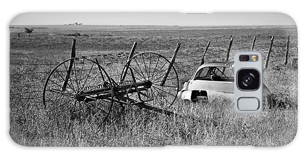 Isetta And Hay Rake Galaxy Case
