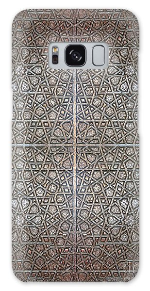 Islamic Wooden Texture Galaxy Case