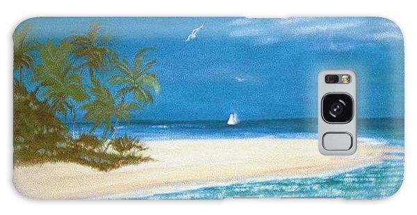 Island Beach Galaxy Case