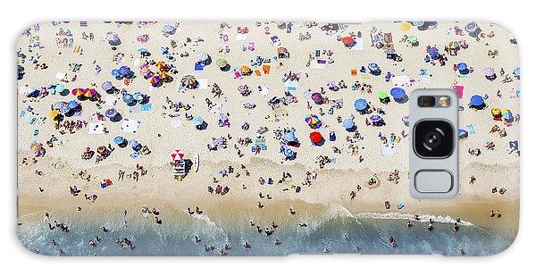 Island Beach State Park Galaxy Case