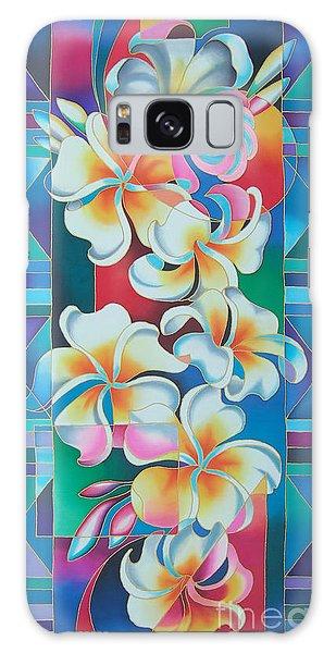 Island Flowers - Frangipani Galaxy Case