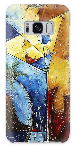 Martini Galaxy S8 Case - Island Martini  Original Madart Painting by Megan Duncanson