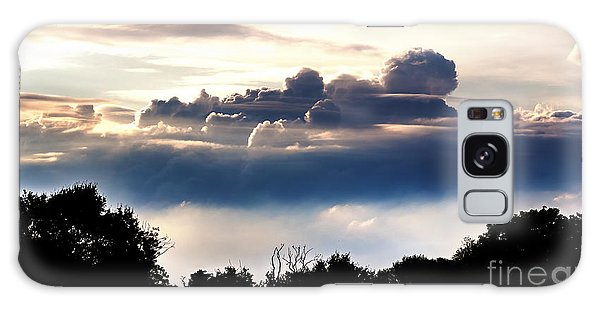 Island Of Clouds Galaxy Case by Daniel Heine
