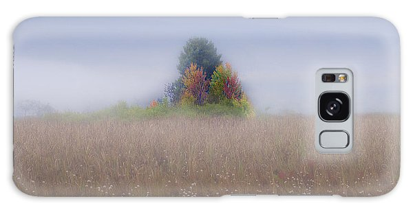 Galaxy Case featuring the photograph Island Of Color In Sea Of Fog by Dan Friend