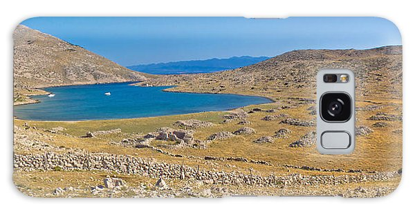 Island Of Krk Yachting Bay Galaxy Case by Brch Photography