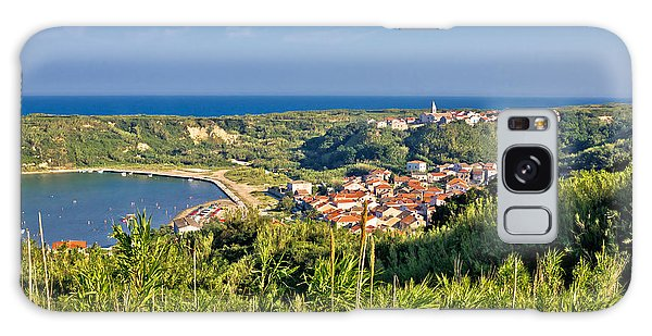 Island Of Susak Village And Nature View Galaxy Case by Brch Photography