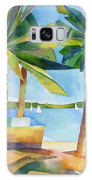 Island Palms Galaxy Case