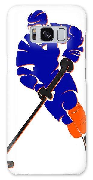 Islanders Galaxy Case - Islanders Shadow Player by Joe Hamilton