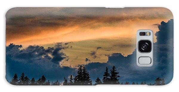 Isle Au Haut Sunset Galaxy Case