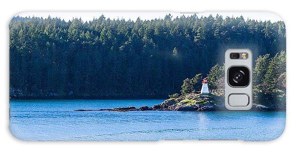 Isle In Strait Of Georgia Galaxy Case