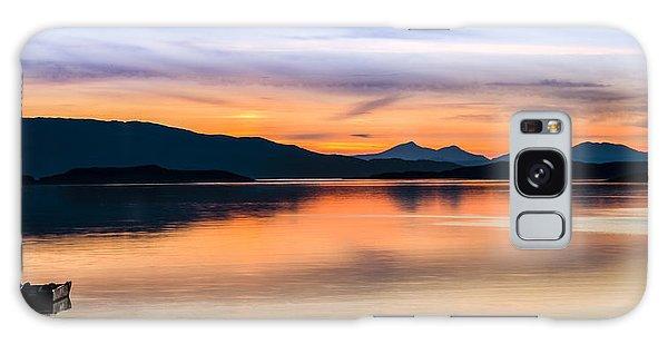Sunset Isle Of Jura Scotland Galaxy Case
