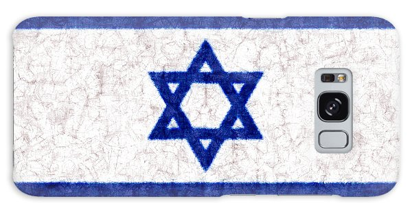 Israel Star Of David Flag Batik Galaxy Case