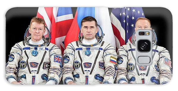 Astronaut Galaxy Case - Iss Expedition 46 Crew by Nasa