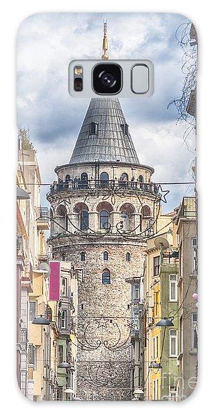 Istanbul Galata Tower Galaxy Case