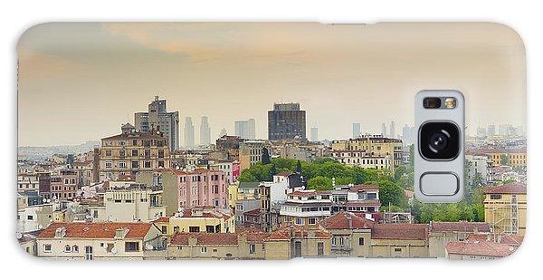 Istanbul Skyline Galaxy Case by Hans Engbers