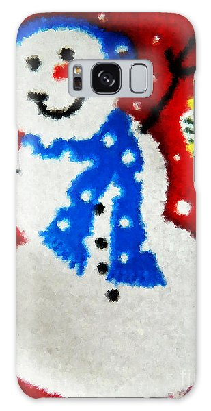 It Is Christmas Time Galaxy Case