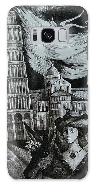 Italian Fantasies. Pisa Galaxy Case