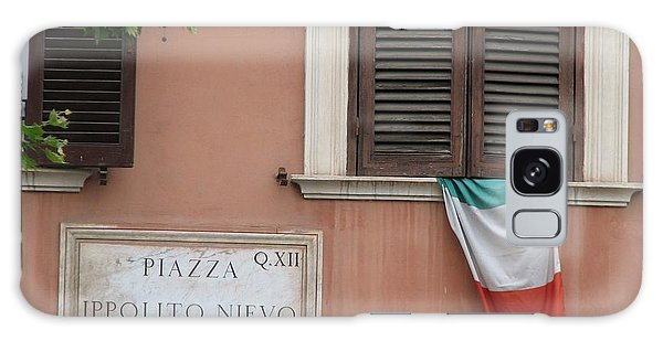 Italian Flag Galaxy Case