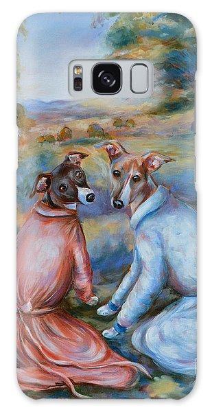 Italian Greyhounds Renoir Style Galaxy Case