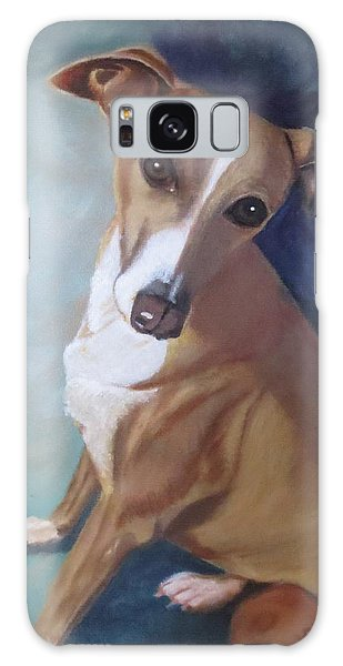 Italian Greyhound Galaxy Case by Sharon Schultz