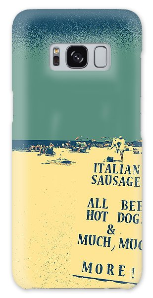 Italian Sausage Galaxy Case by Valerie Reeves