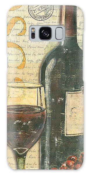 Galaxy Case - Italian Wine And Grapes by Debbie DeWitt