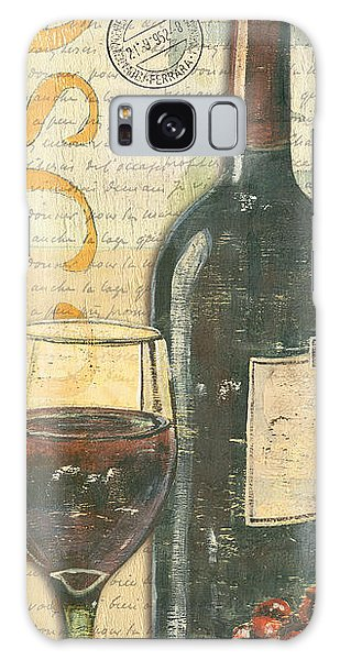 Glass Galaxy Case - Italian Wine And Grapes by Debbie DeWitt