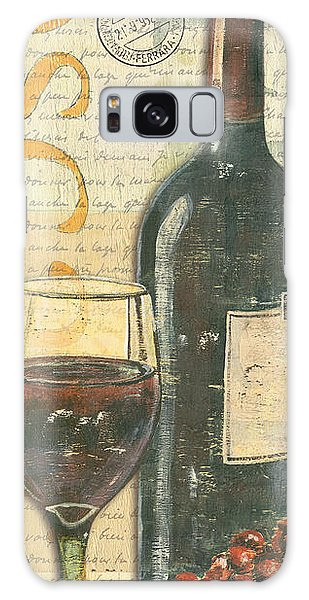 Place Galaxy Case - Italian Wine And Grapes by Debbie DeWitt