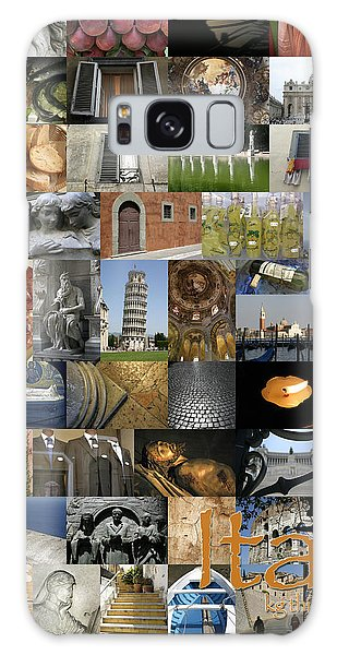 Italy Poster Galaxy Case