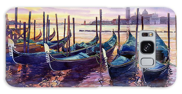 Boat Galaxy S8 Case - Italy Venice Early Mornings by Yuriy Shevchuk