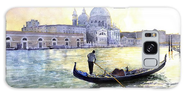 Cityscape Galaxy Case - Italy Venice Morning by Yuriy Shevchuk
