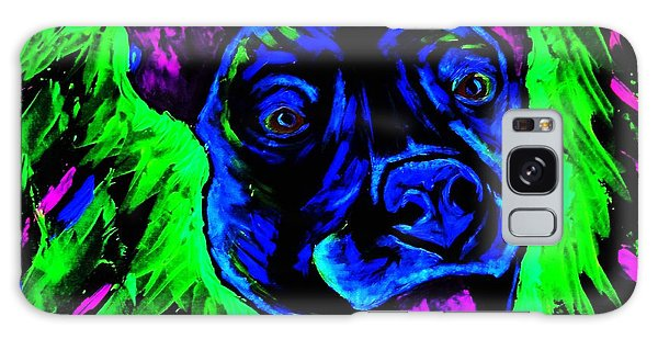 It's A Pitty Black Light Galaxy Case by Lisa Brandel