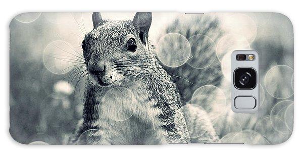 It's A Squirrel's World Too Galaxy Case by Aurelio Zucco