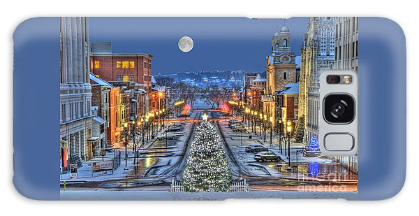 It's Christmas Time In The City Galaxy Case