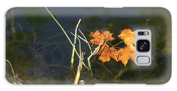 It's Over - Leafs On Pond Galaxy Case