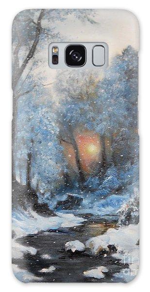 It's Winter Galaxy Case by Sorin Apostolescu