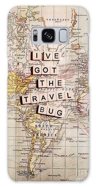 I've Got The Travel Bug Galaxy Case