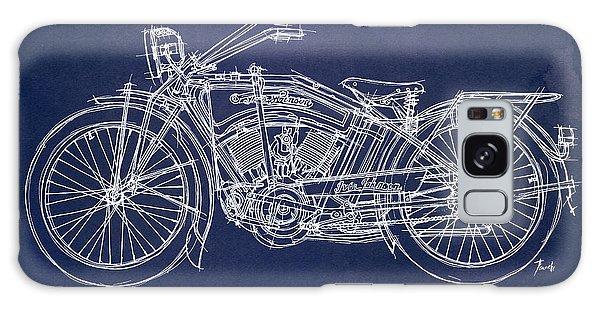 Blueprint Galaxy Case - Original Handmade Iver Johnson 1915 Blueprint by Drawspots Illustrations