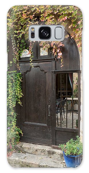 Ivy Covered Doorway Galaxy Case by Paul Topp