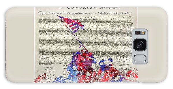 Iwo Jima Declaration Of Freedom Galaxy Case