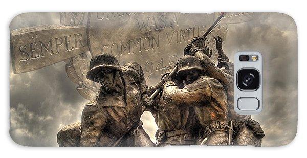 Iwo Jima Galaxy Case by Timothy Lowry