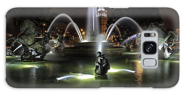J C Nichols Fountain Galaxy Case