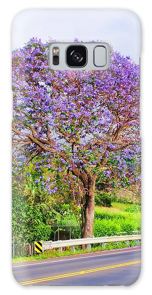 Jacaranda 4 Galaxy Case by Dawn Eshelman