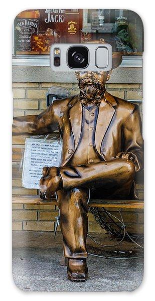 Jack Daniel's Statue Galaxy Case