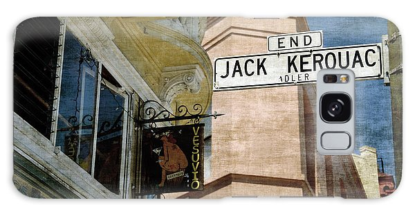 Jack Kerouac Alley And Vesuvio Pub Galaxy Case