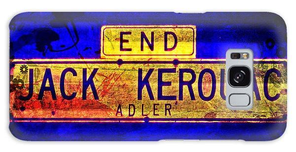 Galaxy Case featuring the mixed media Jack Kerouac Alley by Michelle Dallocchio