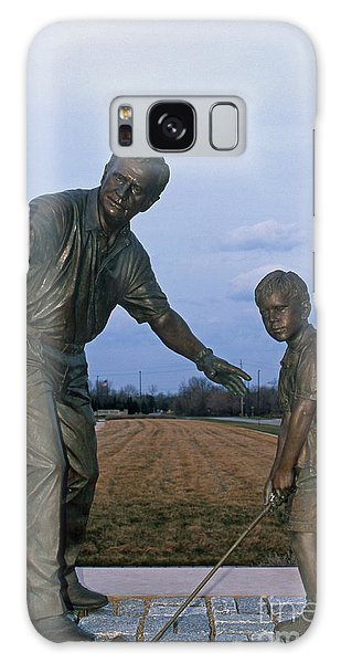36u-245 Jack Nicklaus Sculpture Photo Galaxy Case