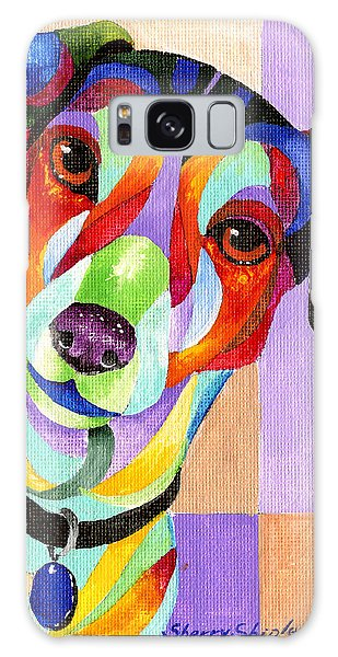 Jack Russell Terrier Galaxy Case by Sherry Shipley