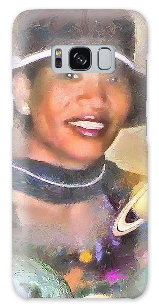 Jackie Galaxy Case by Wayne Pascall